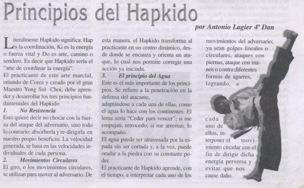 Principios del Hapkido